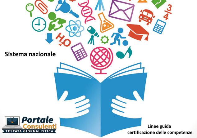 Linee guida certificazione delle competenze