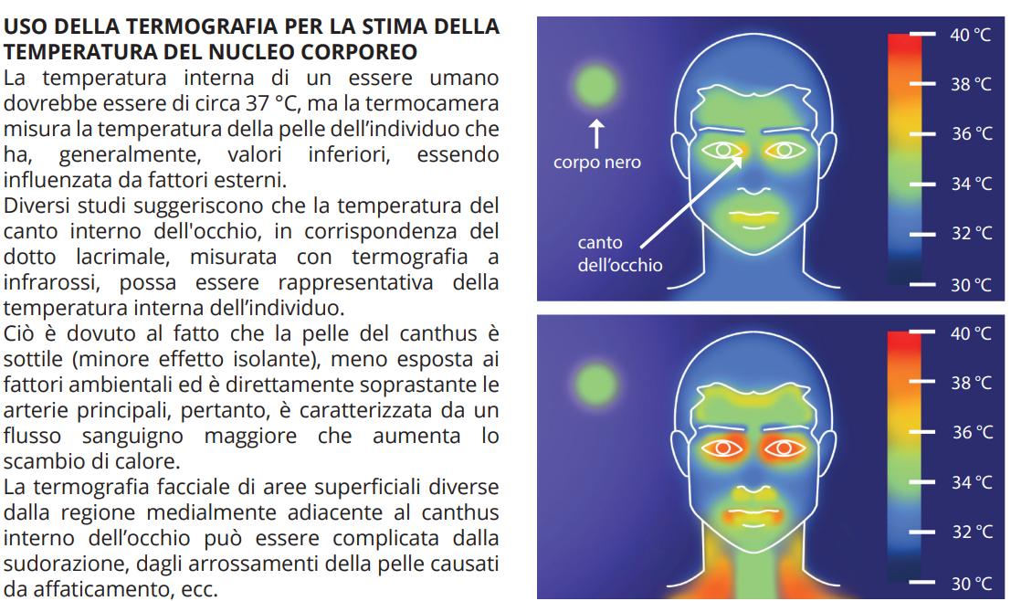 la misurazione della temperatura corporea