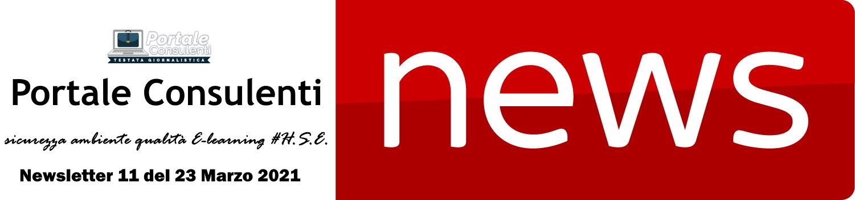 News sicurezza ambiente qualità E-learning HSE, Banca dati