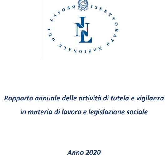 Rapporto annuale INL
