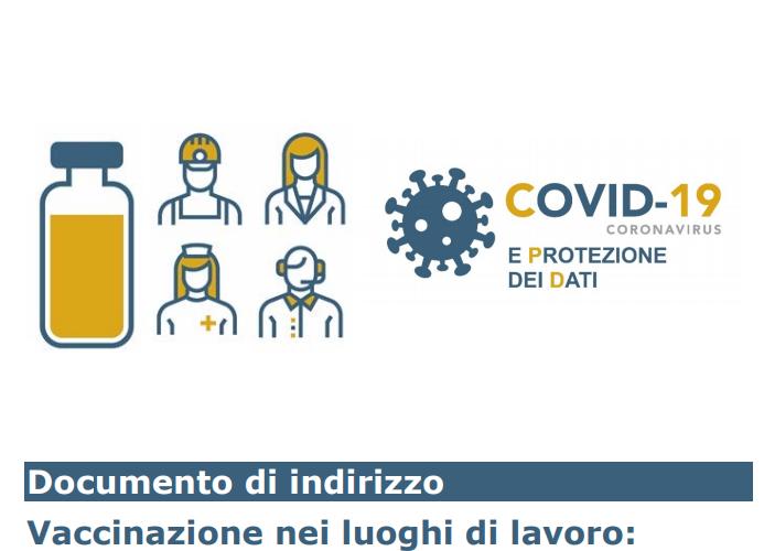 Vaccinazione luoghi di lavoro