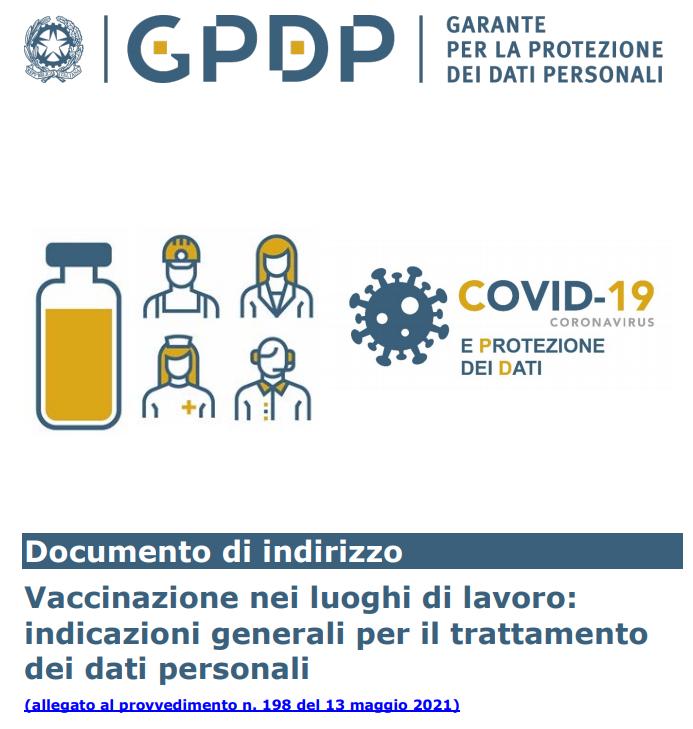 La realizzazione dei piani vaccinali finalizzati all'attivazione di punti straordinari di vaccinazione anti SARS-CoV-2/Covid-19