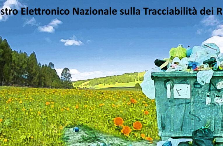 R.E.N.T.Ri nuovo sistema di tracciabilità dei rifiuti