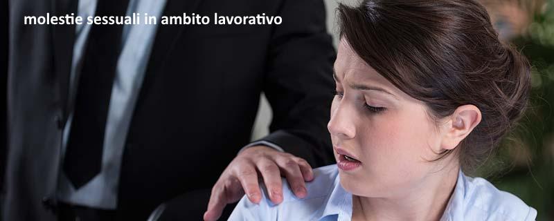 Il diritto penale italiano non prevede attualmente per le molestie sessuali in ambito lavorativo una fattispecie ad hoc.