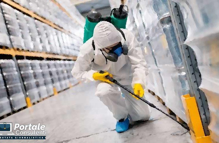 Sanificazione e l'acquisto dei dispositivi di protezione