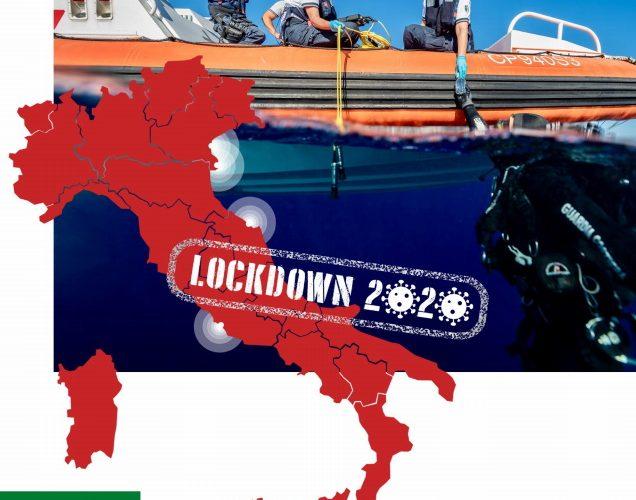 lockdown 2020 alle foci dei fiumi