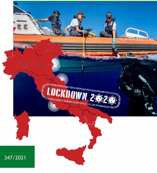 Analisi degli impatti ambientali del lockdown 2020 alle foci dei fiumi Po, Brenta-Adige, Metauro, Tevere