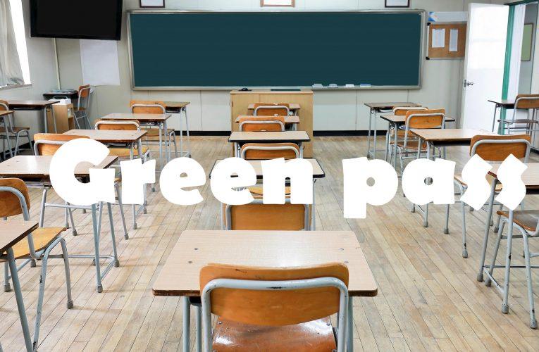 Green pass verifica nelle scuole