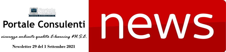 News sicurezza ambiente qualità E-learning HSE, Banca dati Newsletter