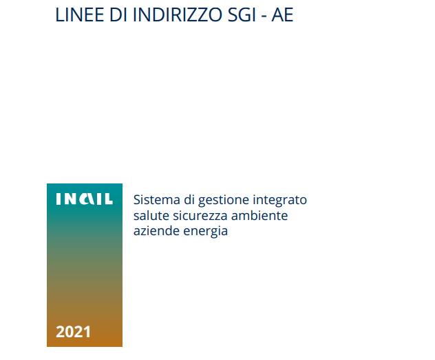 la tutela della sicurezza e salute sul lavoro (Ssl), facendo seguito a pubblicazioni internazionali (come le Linee guida Ilo del 1999), sovranazionali (la norma BS-OHSAS 18001 del 1999, unica certificabile fino al 2018) e nazionali (Linee guida Uni-Inail-Ispesl del 2000).